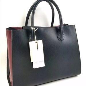 Vittoria Napoli  Bag Italian Leather Rainbow